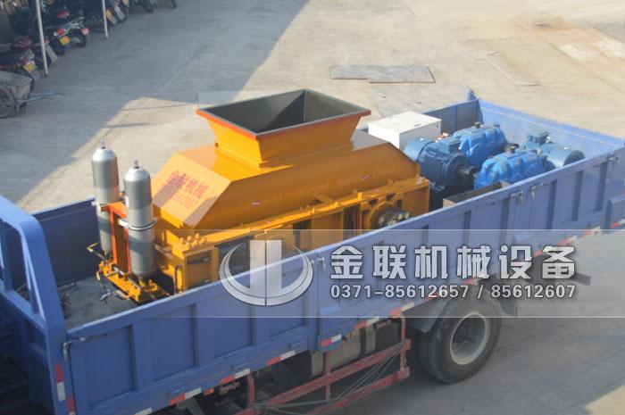 1208大型液压鹅卵石制砂机发货图片5