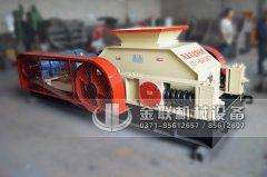 中型对辊式河卵石制砂机发往广东连州