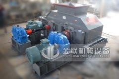 2PG1208大型液压对辊制砂机发往河北邯郸