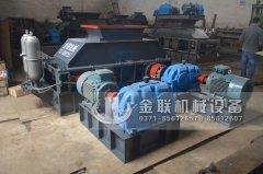大型全自动液压对辊制砂机发往四川成都