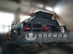 大型1200x800液压对辊破碎机发往浙江