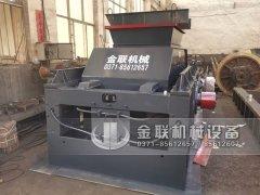 2PG1500x800大型液压对辊破碎机发往陕西
