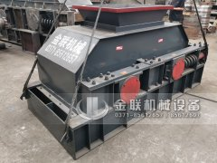 2PG1007型制砂设备液压对辊制砂机发货图片