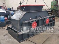 2PG1200x800型液压对辊破碎机发往河南郑州